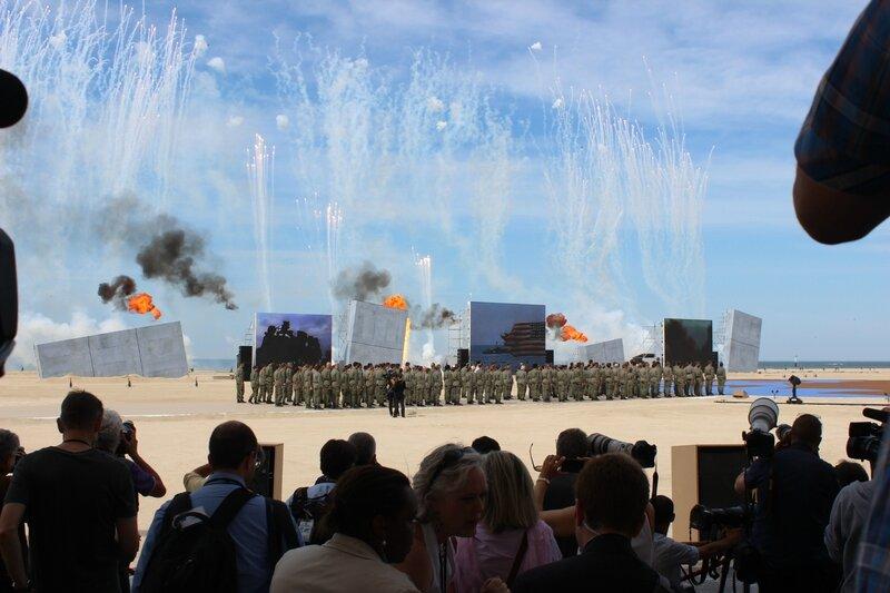DDay D-Day cérémonie internationale spectacle show Ouistreham 6 juin 2014
