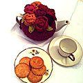 Tea cosy pour theière chinoise...tea cosy renaissance...