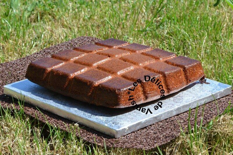 moule tablette, gâteau nutella, flexipan