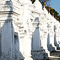 Pagode Kuthodaw - Mandalay - Myanmar (Birmanie)