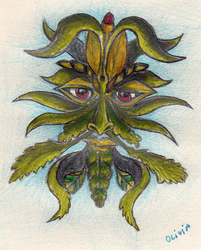 Vivi's greenman