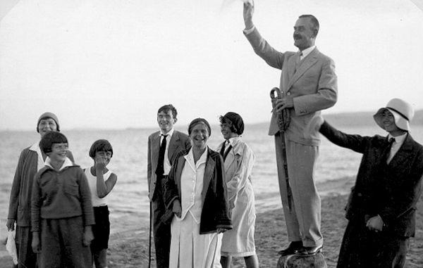 thomas mann et sa famille à nidden 1930