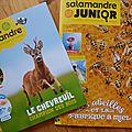 Juin-juillet avec salamandre junior et la petite salamandre + concours / cadeaux