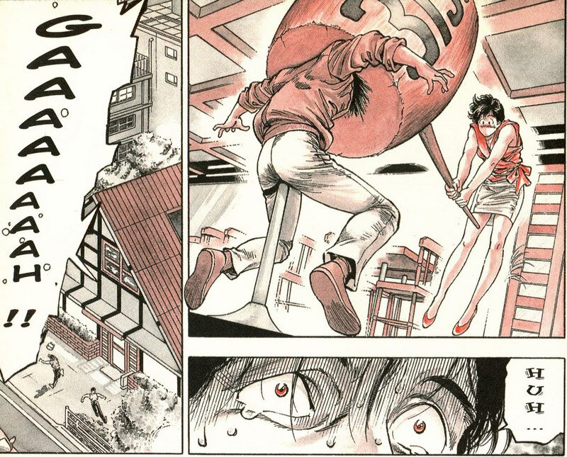 Canalblog Japon Manga City Hunter Massues Tome31 05