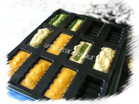 Flans de légumes 1