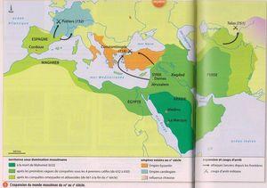 expansion monde musulman