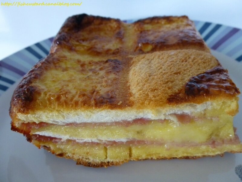 Croque-cake jambon-fromage (moule tablette) (36)