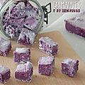 Guimauves à la violette