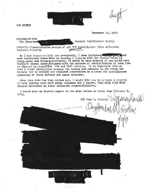 jfkdemande d'infos CIA
