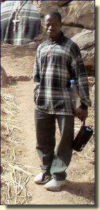 Lazare Dogon et chrétien Mali