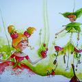 Illustration pour une affiche du Festival Deci delà à Santes (Lille)