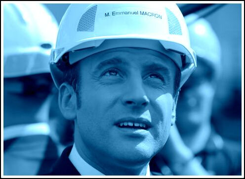 Macron casque