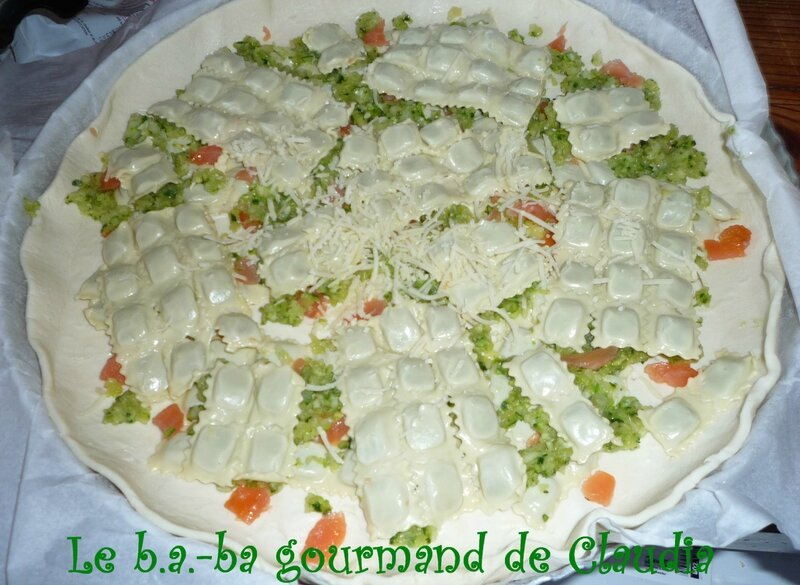 P1110849 Tarte ravioles courgettes sf S