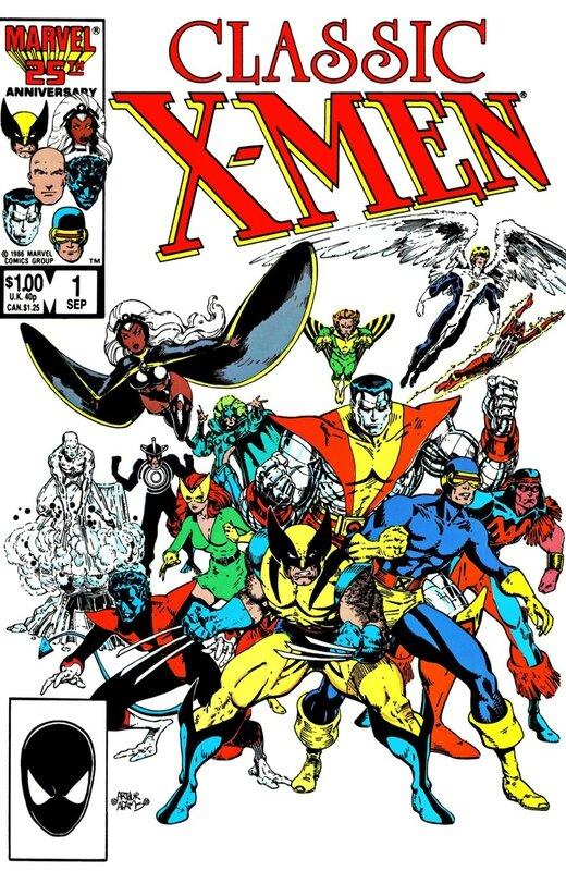 classic x-men 001