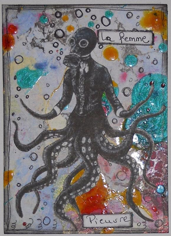 atc 2379-série 17-originale-femme pieuvre
