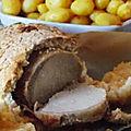 Filet de porc en croûte de sel
