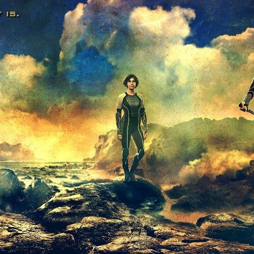 Wiress Catching Fire movie poster