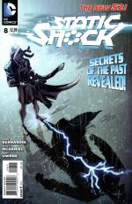new 52 static shock 08