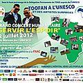 Concert humanitaire