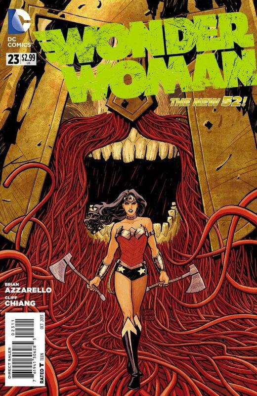 new 52 wonder woman 23