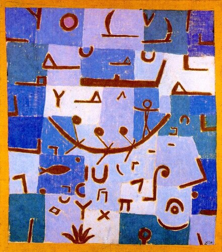 Paul Klee - Legend of the Nile