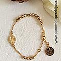 - bracelet chapelet -