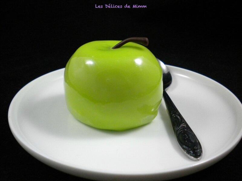"""Petits entremets """"Pommes Vertes"""""""