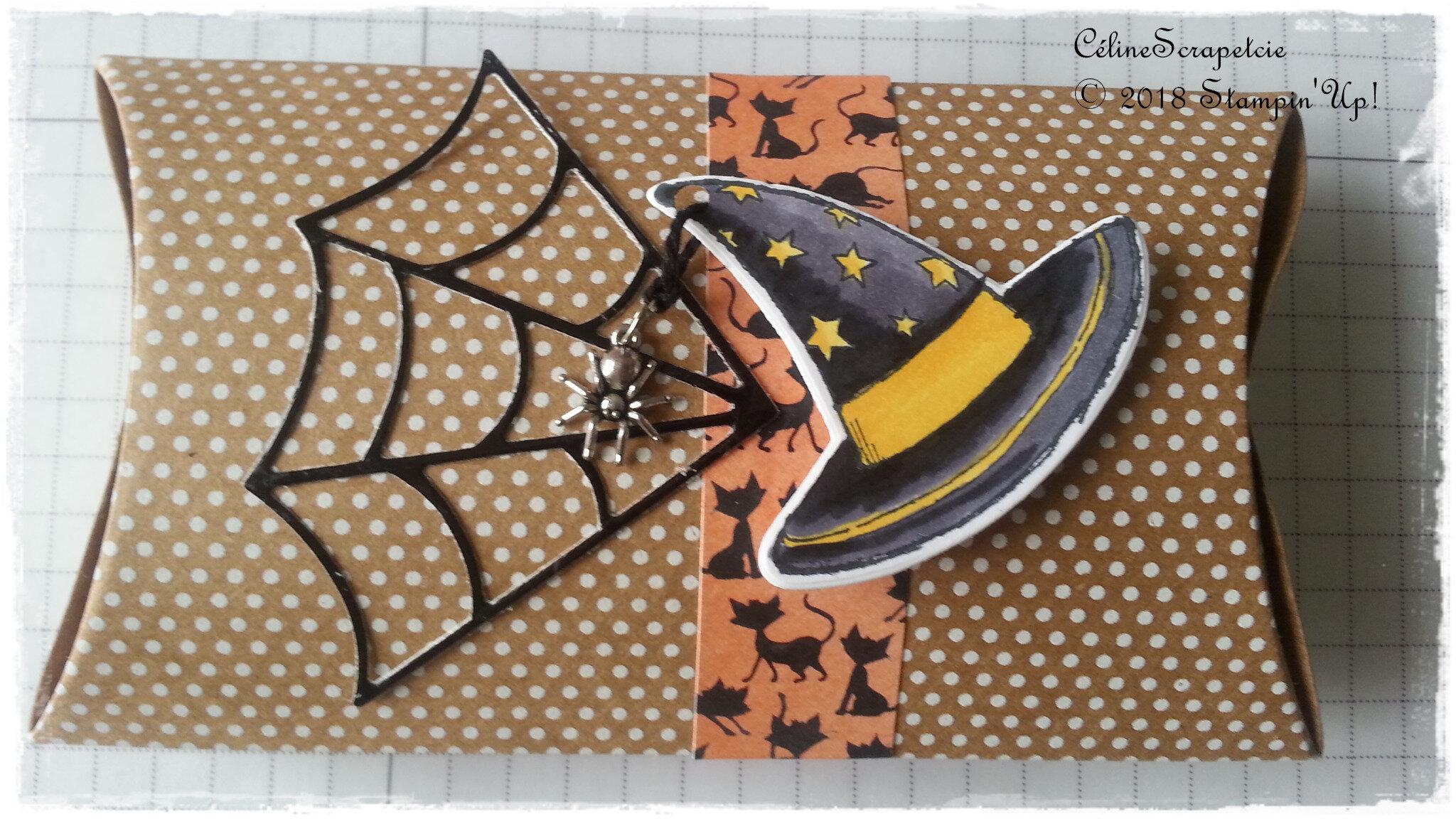 Boîtes marque-place Halloween