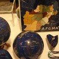 Boules en lapis lazuli
