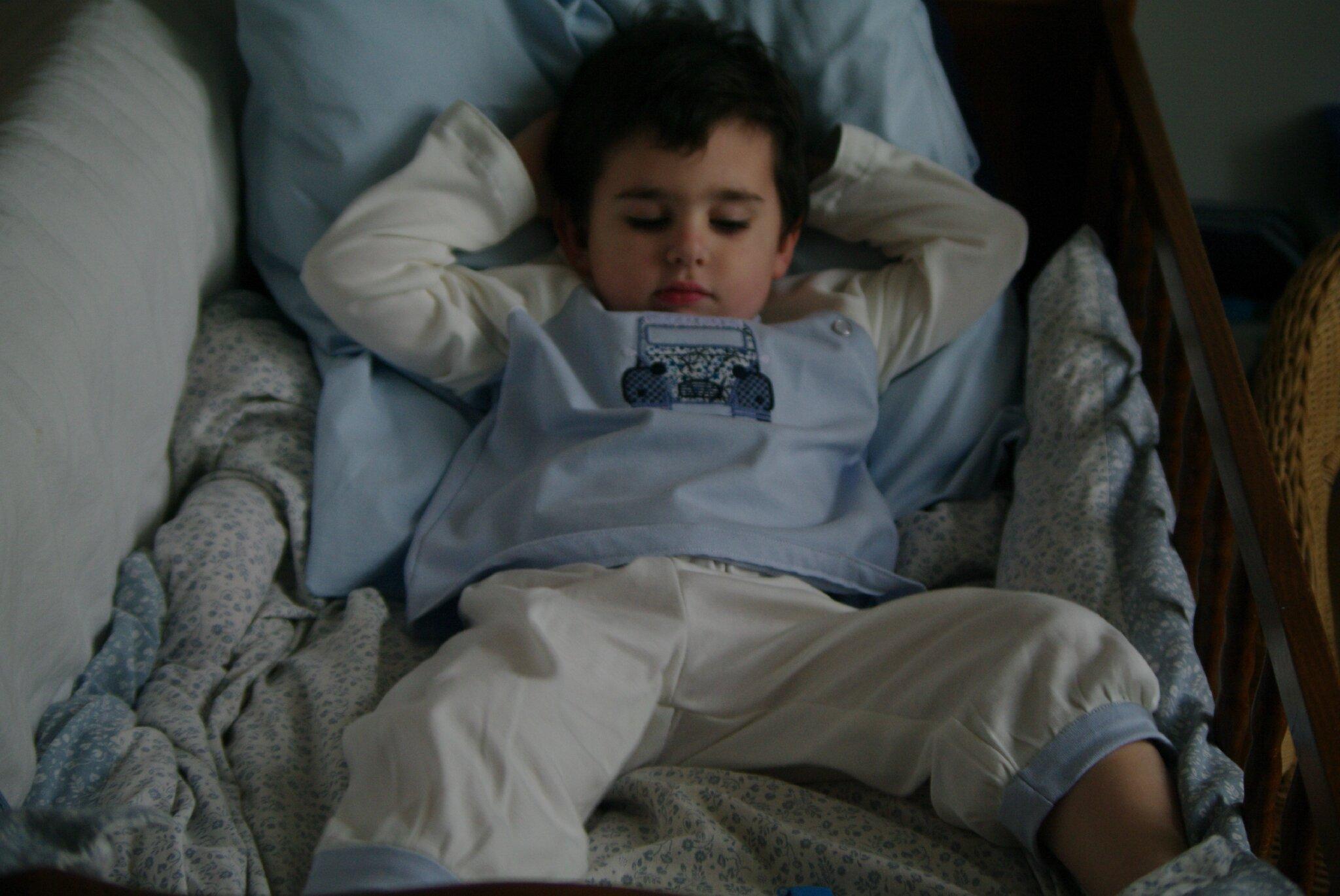 pyjama jersey garçon