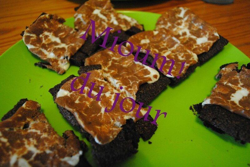 financiers chocolat nounours2