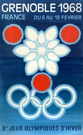 JO 1968 Grenoble Affiche 01