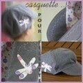 casquette version fille