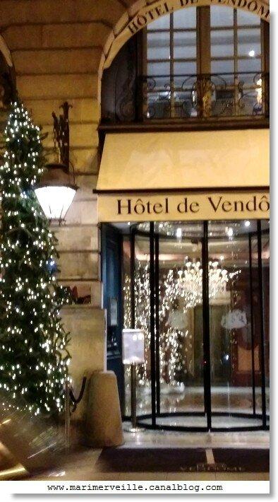 hotel vendôme - paris marimerveille