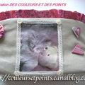 57- Vide-poche à volant plissé de Francine