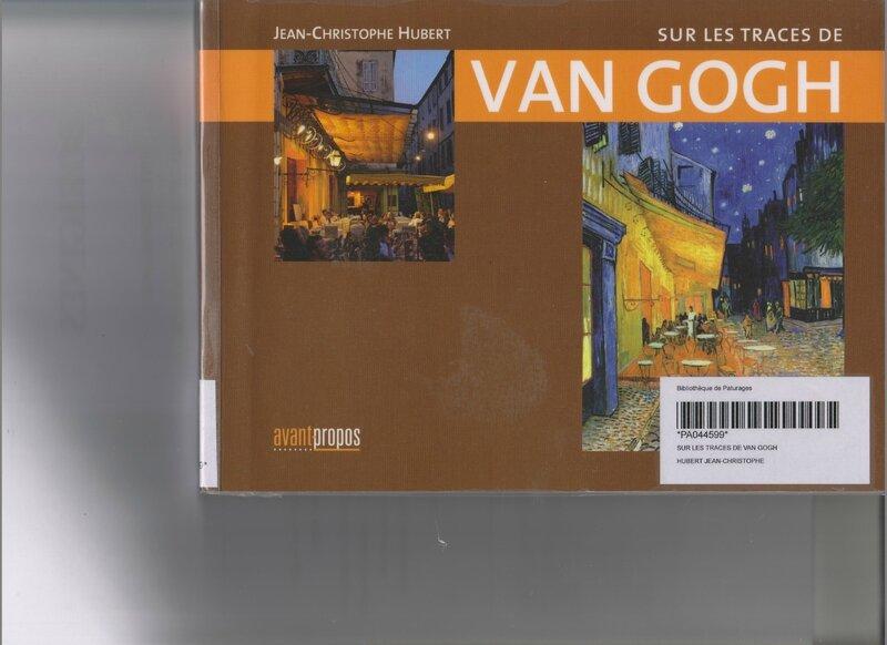 livre Van Gogh - recto 001
