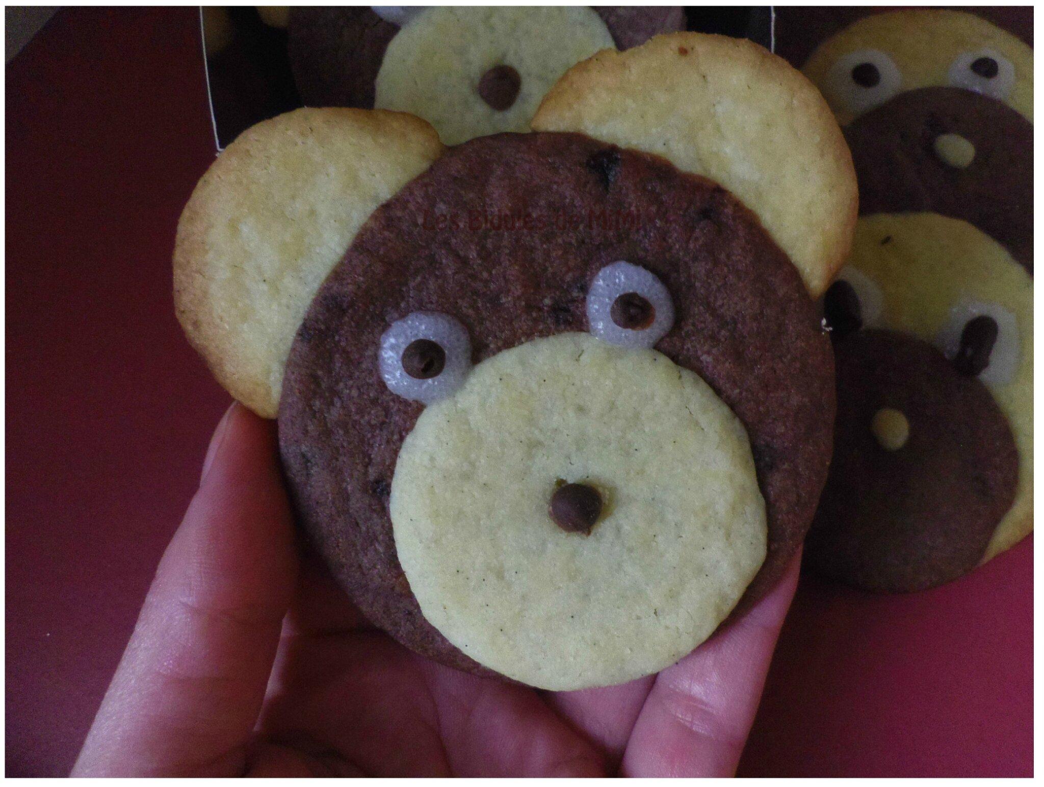 Biscuits oursons et chiots de Mimi