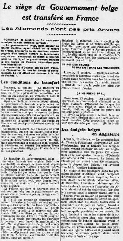 Ouest Eclair 14 10 1914