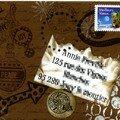 Mail art de sylvie