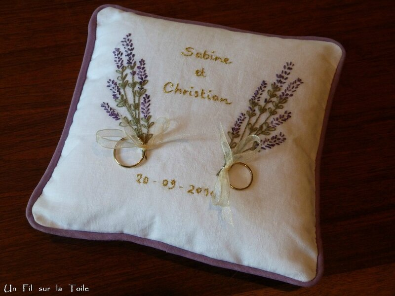 coussin alliances 65