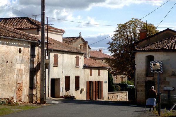 Yvrac bourg