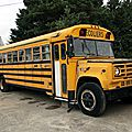 Gmc 6000 school bus blue bird 1973-1989