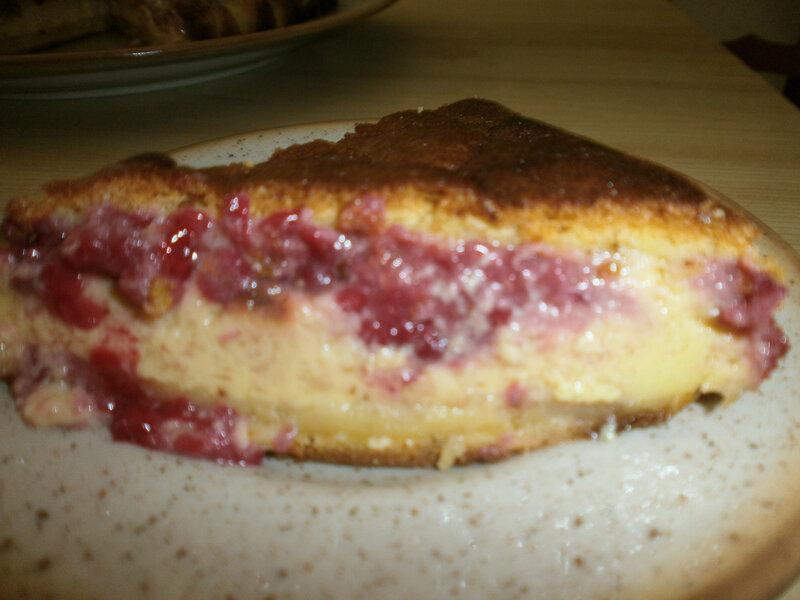 Gâteau magique à la framboise (2)