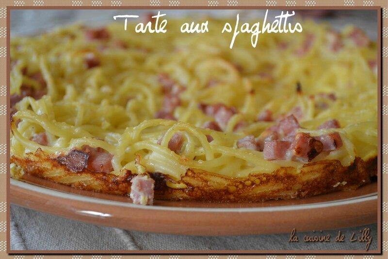 tarte aux spaghettis