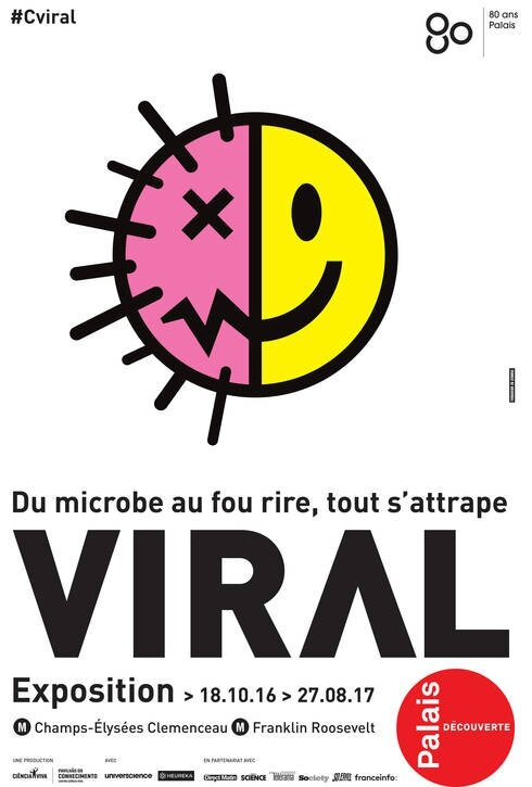 Viral ©Palais de la Découverte