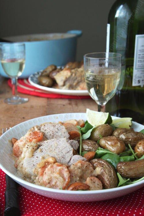 recette de filet mignon de porc sauce noix de cajou 0008 LE MIAM MIAM BLOG