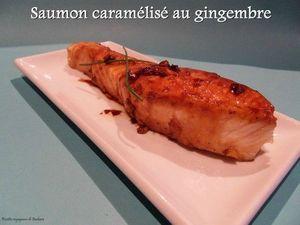 saumon caraméliséau gingembre