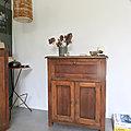 Buffet vintage bois