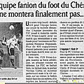 Football club du chéran f2c