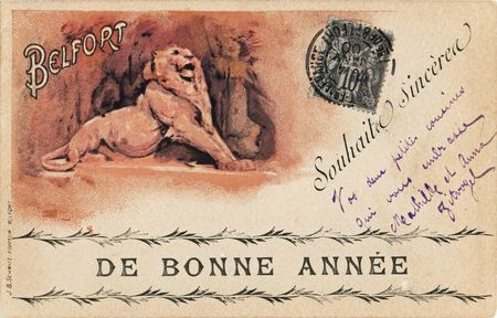 CPA Belfort Année 1900